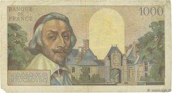 1000 Francs RICHELIEU FRANCE  1956 F.42.21 TB