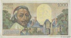 1000 Francs RICHELIEU FRANCE  1956 F.42.21 TB+