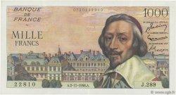 1000 Francs RICHELIEU FRANCE  1956 F.42.23 TTB+
