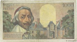 1000 Francs RICHELIEU FRANCE  1957 F.42.25 TB+