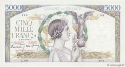 5000 Francs VICTOIRE Impression à plat FRANCE  1939 F.46.02 SUP