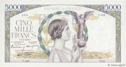 5000 Francs VICTOIRE Impression à plat FRANCE  1939 F.46.04 TTB+