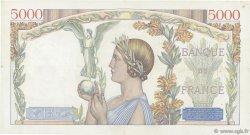 5000 Francs VICTOIRE Impression à plat FRANCE  1939 F.46.09 TTB