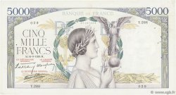 5000 Francs VICTOIRE Impression à plat FRANCE  1939 F.46.10 TB+
