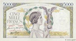 5000 Francs VICTOIRE Impression à plat FRANCE  1941 F.46.21 TTB+