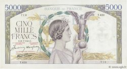 5000 Francs VICTOIRE Impression à plat FRANCE  1941 F.46.24 TTB+
