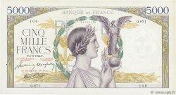 5000 Francs VICTOIRE Impression à plat FRANCE  1942 F.46.34 TTB+