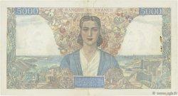5000 Francs EMPIRE FRANCAIS FRANCE  1945 F.47.26 pr.SUP
