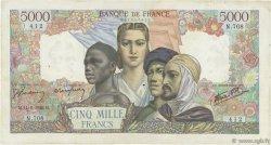 5000 Francs EMPIRE FRANÇAIS FRANCE  1945 F.47.30 TB