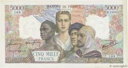 5000 Francs EMPIRE FRANÇAIS FRANCE  1945 F.47.46 TTB+