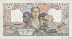 5000 Francs EMPIRE FRANÇAIS FRANCE  1946 F.47.50 TTB+