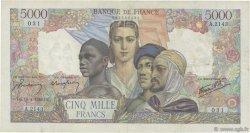 5000 Francs EMPIRE FRANÇAIS FRANCE  1946 F.47.52 TTB