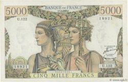 5000 Francs TERRE ET MER FRANCE  1953 F.48.08 SUP