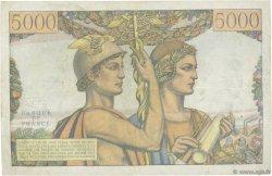 5000 Francs TERRE ET MER FRANCE  1953 F.48.09 TTB+