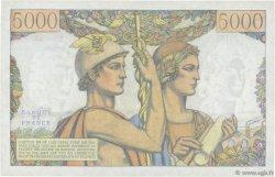 5000 Francs TERRE ET MER FRANCE  1957 F.48.13 TTB+