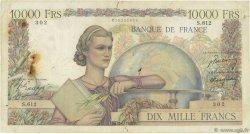 10000 Francs GÉNIE FRANÇAIS FRANCE  1950 F.50.26 B