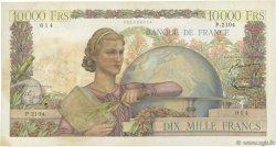 10000 Francs GÉNIE FRANÇAIS FRANCE  1951 F.50.55 TB+