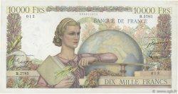 10000 Francs GÉNIE FRANÇAIS FRANCE  1952 F.50.58 TTB