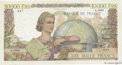 10000 Francs GÉNIE FRANÇAIS FRANCE  1952 F.50.59 TB+