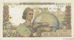 10000 Francs GÉNIE FRANÇAIS FRANCE  1953 F.50.63 B
