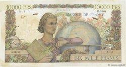 10000 Francs GÉNIE FRANÇAIS FRANCE  1953 F.50.63 B+