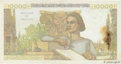 10000 Francs GÉNIE FRANÇAIS FRANCE  1954 F.50.72 TB