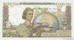 10000 Francs GÉNIE FRANÇAIS FRANCE  1955 F.50.76 TTB+