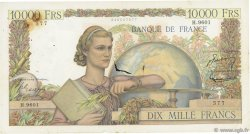 10000 Francs GÉNIE FRANÇAIS FRANCE  1955 F.50.76 B