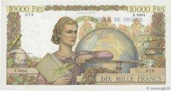 10000 Francs GÉNIE FRANÇAIS FRANCE  1955 F.50.77 TTB