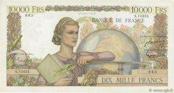 10000 Francs GÉNIE FRANÇAIS FRANCE  1956 F.50.79 TTB