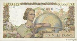 10000 Francs GÉNIE FRANÇAIS FRANCE  1956 F.50.80 TB à TTB