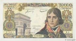 10000 Francs BONAPARTE FRANCE  1955 F.51.01 TTB