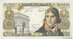 10000 Francs BONAPARTE FRANCE  1956 F.51.04 pr.TTB