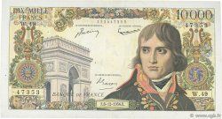 10000 Francs BONAPARTE FRANCE  1956 F.51.06 TB+