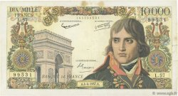 10000 Francs BONAPARTE FRANCE  1957 F.51.07 TB