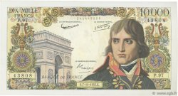 10000 Francs BONAPARTE FRANCE  1957 F.51.10 TTB