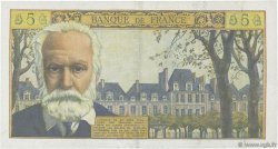 5 Nouveaux Francs VICTOR HUGO FRANCE  1961 F.56.09 pr.SUP