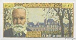 5 Nouveaux Francs VICTOR HUGO FRANCE  1964 F.56.15 NEUF