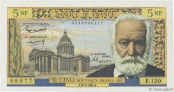 5 Nouveaux Francs VICTOR HUGO FRANCE  1964 F.56.15 pr.SUP