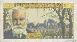 5 Nouveaux Francs VICTOR HUGO FRANCE  1965 F.56.18 TB