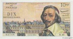 10 Nouveaux Francs RICHELIEU FRANCE  1959 F.57.04 TTB+