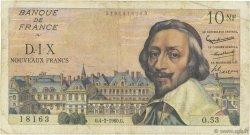 10 Nouveaux Francs RICHELIEU FRANCE  1960 F.57.05 B