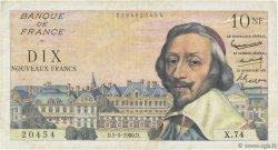 10 Nouveaux Francs RICHELIEU FRANCE  1960 F.57.07 TB