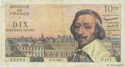 10 Nouveaux Francs RICHELIEU FRANCE  1960 F.57.09 TB+