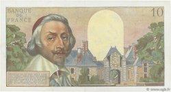 10 Nouveaux Francs RICHELIEU FRANCE  1960 F.57.11 pr.SUP