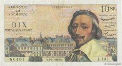 10 Nouveaux Francs RICHELIEU FRANCE  1960 F.57.11 TTB
