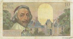 10 Nouveaux Francs RICHELIEU FRANCE  1960 F.57.11 pr.TB