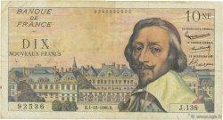 10 Nouveaux Francs RICHELIEU FRANCE  1960 F.57.12 B