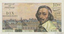 10 Nouveaux Francs RICHELIEU FRANCE  1961 F.57.13 pr.SUP