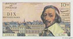 10 Nouveaux Francs RICHELIEU FRANCE  1961 F.57.14 SUP